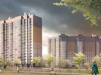 Комплекс включает два 17-этажных корпуса